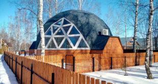 Преимущества геокупольных конструкций